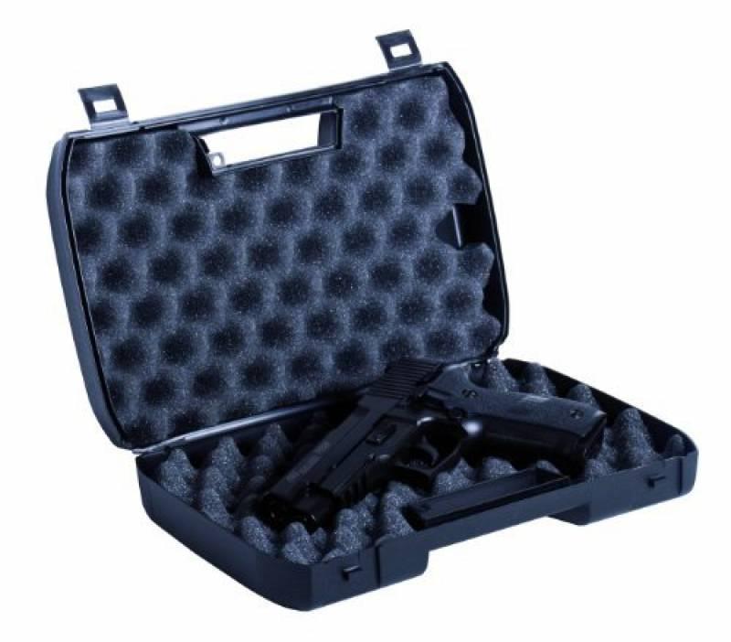 HTUK/® S/ûre et s/écuris/ée 31,5/cm Mallette de transport rigide pour pistolet d/'Airsoft