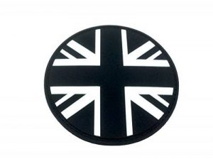 Union Jack Noir Rond Drapeau Airsoft PVC Patch de la marque image 0 produit