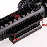 UniqueFire 3–9x 32eg Scopes Airsoft Rifle Scopes éclairé holographique 4réticule Rouge et vert Dot Sight de la marque image 3 produit