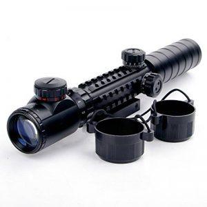 UniqueFire 3–9x 32eg Scopes Airsoft Rifle Scopes éclairé holographique 4réticule Rouge et vert Dot Sight de la marque image 0 produit