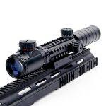 UniqueFire 3–9x 32eg Scopes Airsoft Rifle Scopes éclairé holographique 4réticule Rouge et vert Dot Sight de la marque image 1 produit