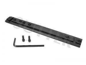 Universel rail de 21mm & 11mm - 150mm - Montage pour lunettes de visée de la marque image 0 produit