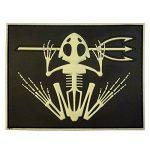 US Marine Navy Seals Bone Frog Crâne Squelette DEVGRU Morale PVC 3D Hook&Loop Écusson Patch de la marque image 1 produit