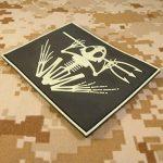 US Marine Navy Seals Bone Frog Crâne Squelette DEVGRU Morale PVC 3D Hook&Loop Écusson Patch de la marque image 3 produit