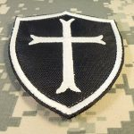 US Marine Navy Seals Lumineux DEVGRU Crusaders Templar Cross Embroidered Hook-and-Loop Écusson Patch de la marque image 4 produit