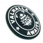 Valhalla Awaits Viking Noir PVC Airsoft Patch de la marque image 1 produit