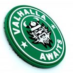 Valhalla Awaits Viking PVC Airsoft Patch de la marque image 1 produit
