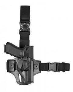 Vega holster Glock 17/19 Droitier Holster de Cuisse Mixte Adulte, Noir de la marque image 0 produit