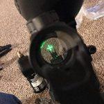 Vert Rouge Dot Vue Fusil Portée Reflex Optique Holographique Tactique S'adapte 11mm / 20mm Rail avec Flip Up Cover Lens pour Airsoft Gun de la marque image 5 produit