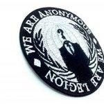 We Are Anonymous , We Are Legion Fer Coudre Patch Brodé Cosplay de la marque image 1 produit