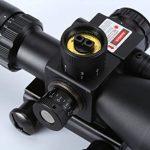 WELQUIC Fusil Portée 2.5-10x40 Rouge & Vert Portée De Chasse Illuminée Avec Support De Rail 22m de la marque image 4 produit