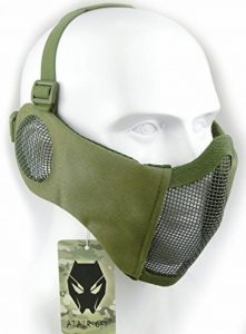 WorldShopping4U Airsoft tactique CS de protection inférieur Guard en maille filet en nylon Demi masque visage de la marque image 0 produit
