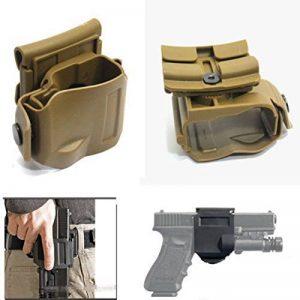 WorldShopping4U NEW Pivote 360 Tactical Glock clip MOLLE / Belt Holster pour Glock 17 19 22 23 de la marque image 0 produit