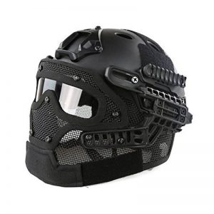 WorldShopping4U Tactical Airsoft Full Face Googles G4 System Protective Mask Helmet Paintball de la marque image 0 produit