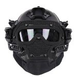 WorldShopping4U Tactical Airsoft Full Face Googles G4 System Protective Mask Helmet Paintball de la marque image 1 produit