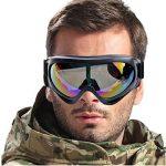 WorldShopping4U tactique UV400 Vent Dust Kite Surf Jet Ski Protection des yeux Lunettes Goggle Airsoft Paintball Chasse de la marque image 4 produit