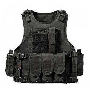 YAKEDA® Ventilateurs Ventilateurs Armée tactique Vest Cs Champ Swat Tactical Army Vest Vest extérieure Cs Jeu Vest cosplay de Counter Strike Jeu Vest-322 de la marque image 0 produit