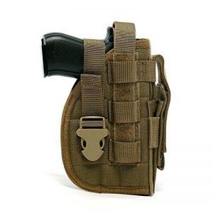 Yisibo Etui/Holster à Pistolet MOLLE Tactique Militaire Avec Porte Chargeur Pour 1911 45 92 96 Glock de la marque image 0 produit