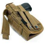 Yisibo Etui/Holster à Pistolet MOLLE Tactique Militaire Avec Porte Chargeur Pour 1911 45 92 96 Glock de la marque image 4 produit