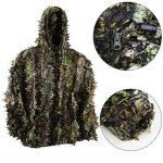 Zicac -Ensemble Veste à Capuche et Pantalon Camouflage avec des Feuilles 3D Séchage Rapide pour Photographie Chasse Hunting de la marque image 2 produit