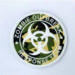 Zombie Response Team Sac à dos Multicam foyer Airsoft Patch de la marque image 1 produit